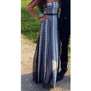 BCBG Maxazria Maxi/ Prom Dress